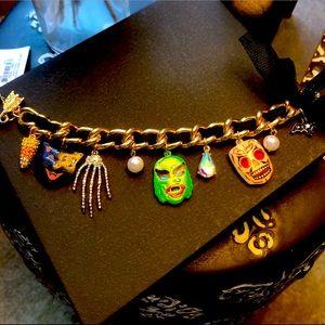 🎃 Betsey Johnson Halloween Charm Bracelet